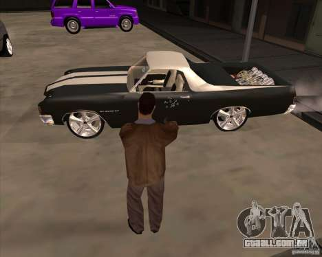 A pele é um membro da máfia para GTA San Andreas quinto tela
