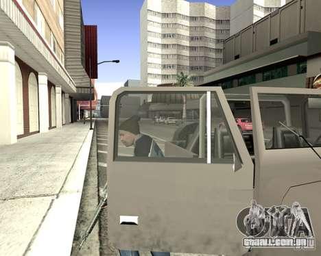 Tampa do sistema para GTA San Andreas nono tela