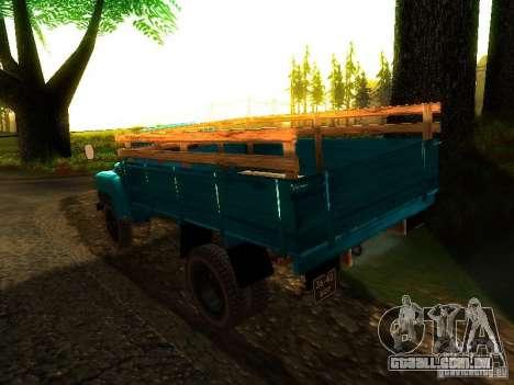 GAZ 53 para GTA San Andreas esquerda vista