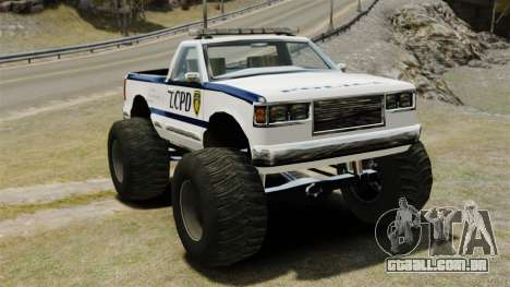 Policial Monster Truck ELS para GTA 4