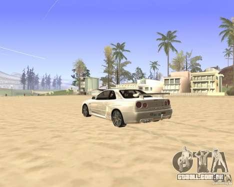 ENBSeries By Krivaseef para GTA San Andreas terceira tela