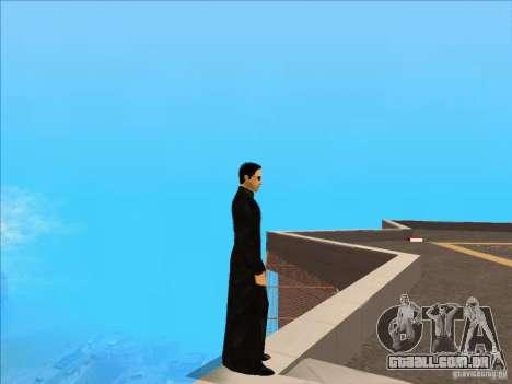 Matrix Skin Pack para GTA San Andreas segunda tela
