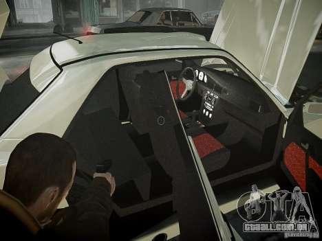 Mercedes 190E Evo2 para GTA 4 vista superior