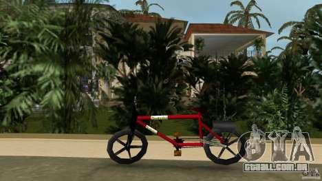 Mountainbike (Rover) para GTA Vice City deixou vista