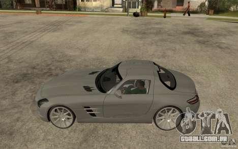 Mercedes-Benz SLS para GTA San Andreas esquerda vista
