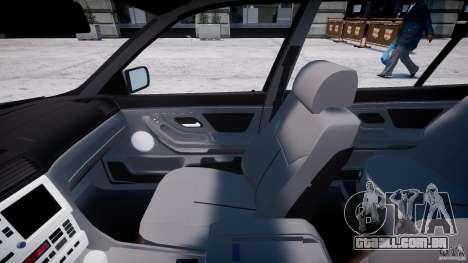 BMW 750i v1.5 para GTA 4 vista de volta