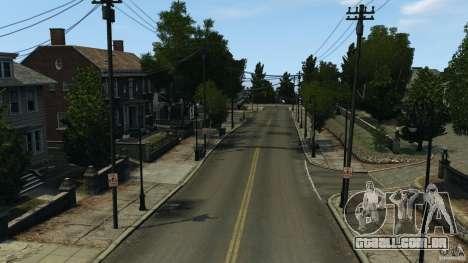Cidade vazia para GTA 4 por diante tela