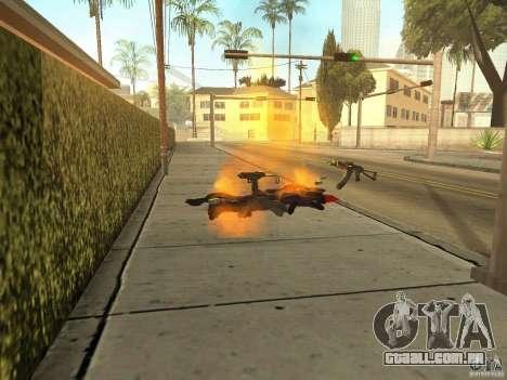 Armas nacional-versão 1.5 para GTA San Andreas quinto tela