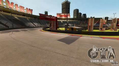 Hazyview Eight Drift Map para GTA 4 por diante tela