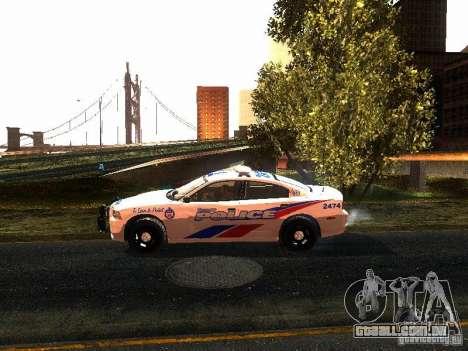 Dodge Charger 2011 Toronto Police para GTA San Andreas esquerda vista