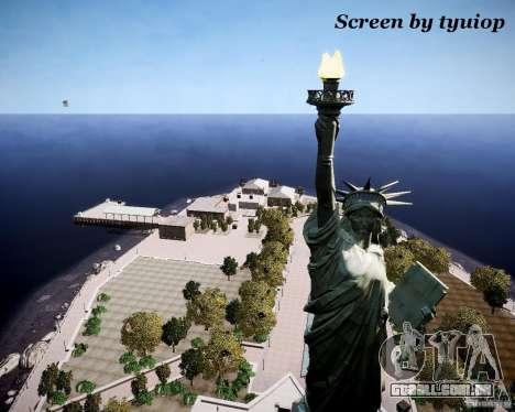 New Statue of Liberty para GTA 4 terceira tela