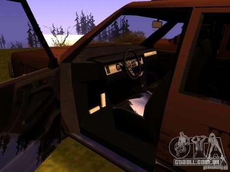 Mountainstalker S para GTA San Andreas vista superior