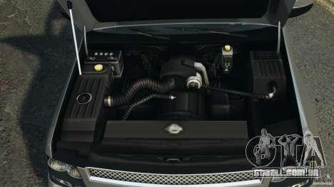 Chevrolet Suburban GMT900 2008 v1.0 para GTA 4 vista superior