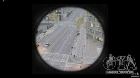 RSASS de MW3 (sniper) para GTA 4 quinto tela