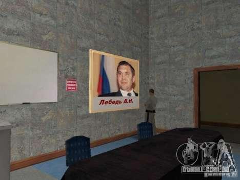 Corpo de cadetes de Krasnoyarsk para GTA San Andreas décima primeira imagem de tela