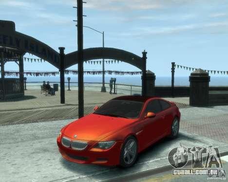 BMW M6 2010 v1.1 para GTA 4