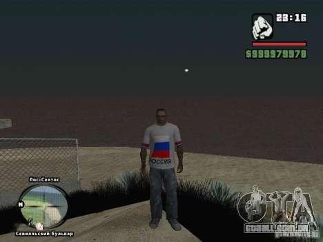 Futebol na Rússia para GTA San Andreas sexta tela