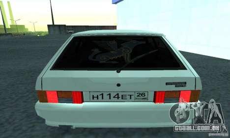 VAZ-2114 para GTA San Andreas traseira esquerda vista