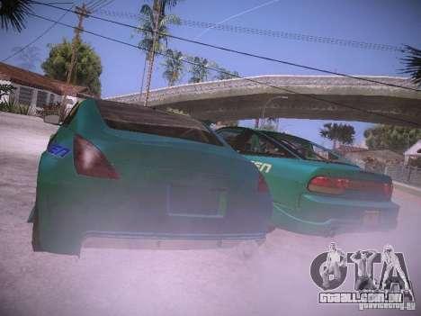 Nissan 200SX Falken Tire para GTA San Andreas traseira esquerda vista