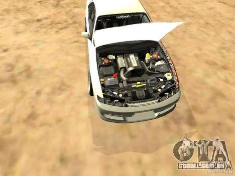 Nissan Silvia S14 JDM para vista lateral GTA San Andreas
