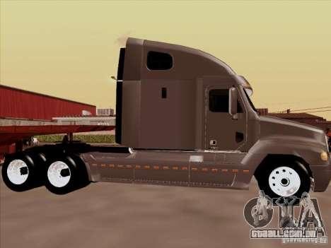 Freightliner Century ST para GTA San Andreas traseira esquerda vista