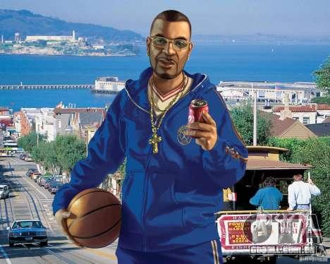 Tela de boot em San Francisco para GTA 4