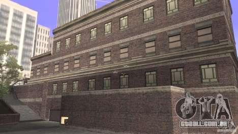 San Fierro Police Station 1.0 para GTA San Andreas segunda tela