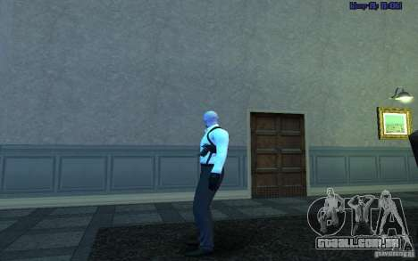 Agent 47 para GTA San Andreas terceira tela