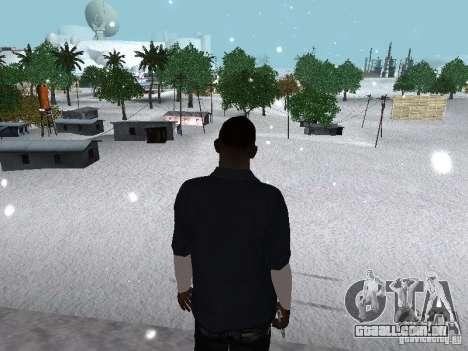 Snow MOD 2012-2013 para GTA San Andreas oitavo tela
