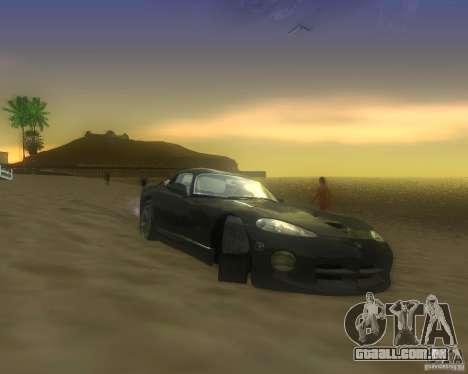 Modificação gráfica global para GTA San Andreas sétima tela
