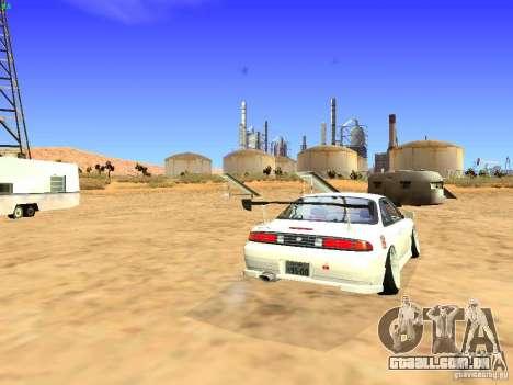Nissan Silvia S14 JDM para GTA San Andreas vista direita