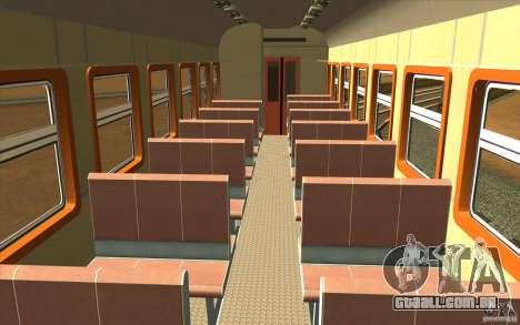 ÈD9M-0132A para GTA San Andreas vista interior