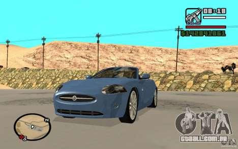 Jaguar XK Convertable para GTA San Andreas