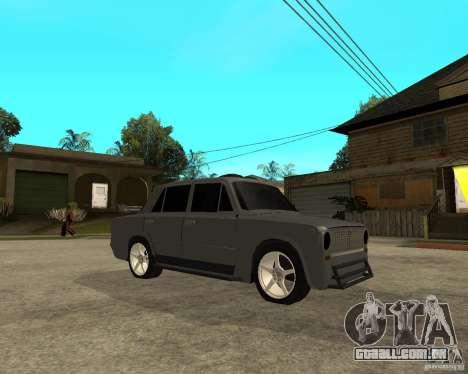 2101 VAZ difícil afinação para GTA San Andreas