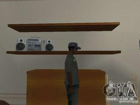 Noize Mc Tee para GTA San Andreas terceira tela