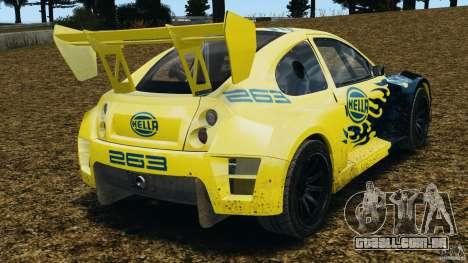 Colin McRae Hella Rallycross para GTA 4 traseira esquerda vista