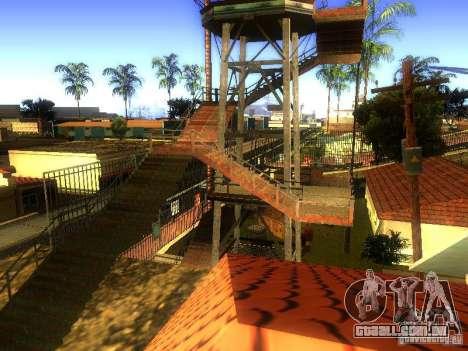 Base da Grove Street para GTA San Andreas décimo tela
