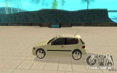 Honda Civic 1992 para GTA San Andreas esquerda vista