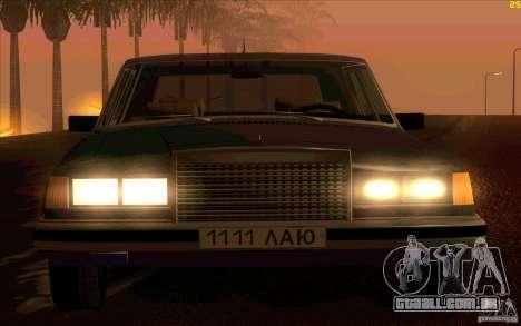 ZIL 41041 para GTA San Andreas vista traseira