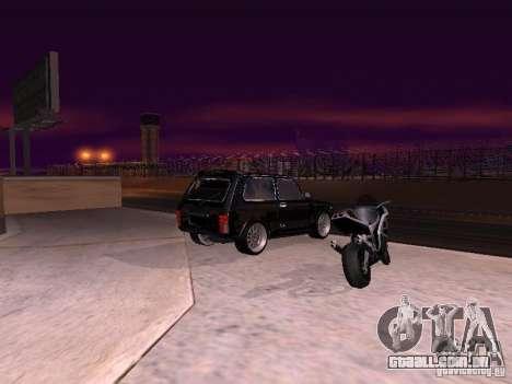 VAZ 2121 Tuning para GTA San Andreas esquerda vista