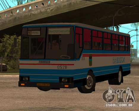 Autosan H10-11B full Orenburg stickers para GTA San Andreas
