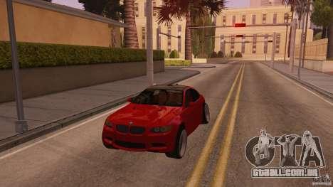 BMW M3 E92 Slammed para GTA San Andreas