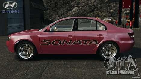 Hyundai Sonata v1.0 para GTA 4 esquerda vista