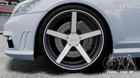 Mercedes-Benz S65 W221 Vossen v1.2 para GTA 4 vista de volta