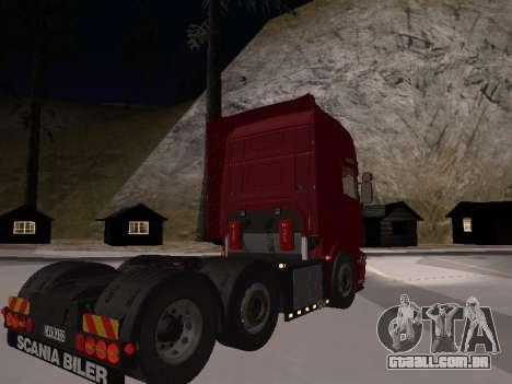 Scania 460 para GTA San Andreas esquerda vista
