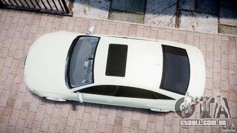 Audi RS6 2010 para GTA 4 vista direita