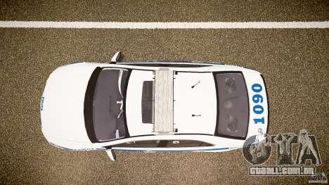 Honda Accord Type R NYPD (City Patrol 1090) ELS para GTA 4 vista direita