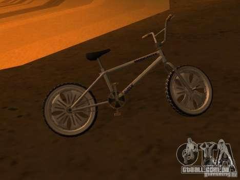 New Bmx para GTA San Andreas vista traseira