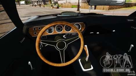 Plymouth Cuda 1971 [EPM] Mopar para GTA 4 vista de volta
