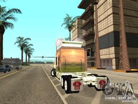 Kenworth W900 para GTA San Andreas esquerda vista